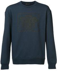 Versace - Medusa Print Sweatshirt - Lyst