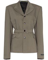 GmbH - Belted Jacket Blazer - Lyst