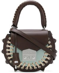 Salar - Lace-up Detail Bag - Lyst