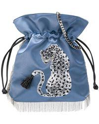 Les Petits Joueurs - Tiger Embellished Mini Bag - Lyst
