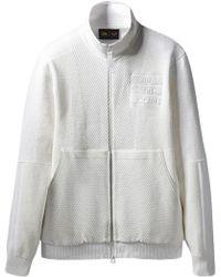 4b2ae8654 adidas X Pharrell Williams Hu Holi Track Jacket in White for Men - Lyst