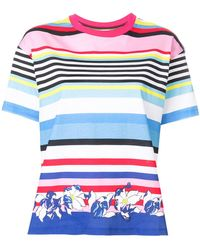 PS by Paul Smith - Multi-stripe T-shirt - Lyst