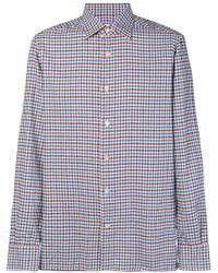 Kiton - Checked Shirt - Lyst