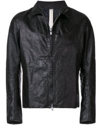 A Diciannoveventitre - Classic Leather Jacket - Lyst