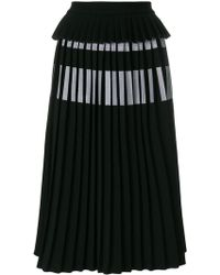 Ioana Ciolacu - Pleated Midi Skirt - Lyst