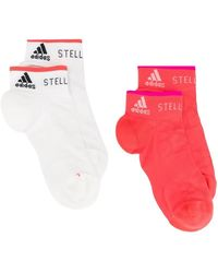 adidas By Stella McCartney - Two-pack Ankle Socks - Lyst