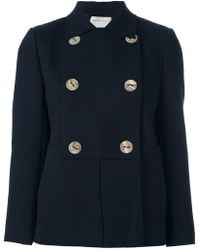 Maison Rabih Kayrouz - Double Breasted Fitted Jacket - Lyst