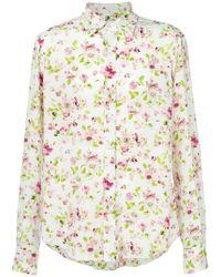 Faith Connexion - Rose Print Shirt - Lyst