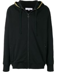 Les Benjamins - Logo Embroidered Zipped Hoodie - Lyst