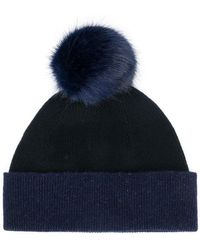 PS by Paul Smith - Pom-pom Knitted Hat - Lyst