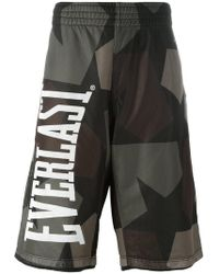 Ports 1961 - Camouflage Print Bermuda Shorts - Lyst