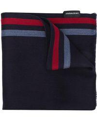 Emporio Armani - Striped Scarf - Lyst