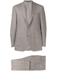 Canali - Glen Check Two-piece Formal Suit - Lyst