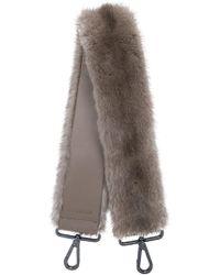 Max Mara - Fur Shoulder Strap - Lyst