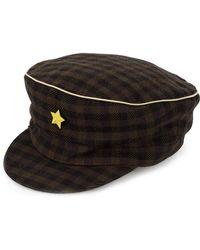 Undercover - Plaid Baker Boy Hat - Lyst