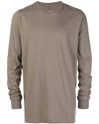 Rick Owens - Long-sleeve Sweatshirt - Lyst