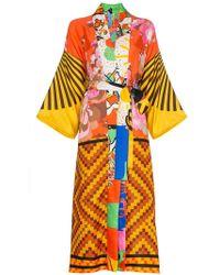 Rianna + Nina - Silk 10k Kimono Robe - Lyst