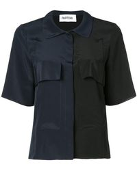 Nellie Partow - Two-tone Shirt - Lyst