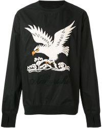 Maharishi - Eagle Embroidered Sweatshirt - Lyst