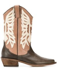 P.A.R.O.S.H. - Western Boots - Lyst