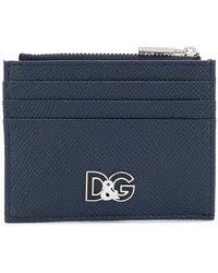 Dolce & Gabbana - Logo Plaque Cardholder - Lyst