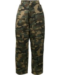 Hood By Air - Camouflage Print Pants - Lyst