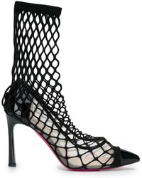 Pinko - Fishnet Court Shoes - Lyst