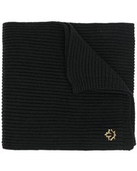 DSquared² - Ribbed Logo Plaque Scarf - Lyst