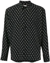 Saint Laurent - Repilé Ikat Print Shirt - Lyst
