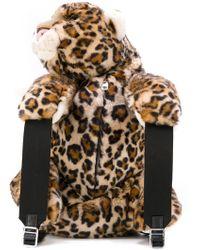 Dolce & Gabbana | Leopard Shaped Backpack | Lyst