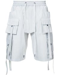 D.GNAK - Multi Pocket Shorts - Lyst