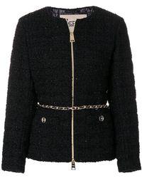 Herno - Padded Bouclé Tweed Jacket - Lyst