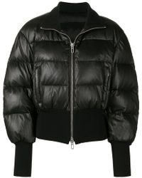 DROMe - Cropped Puffer Jacket - Lyst