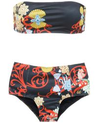 Brigitte Bardot - Off The Shoulder Bikini Set - Lyst