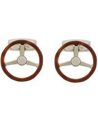 Hackett - Steering Wheel Cufflinks - Lyst