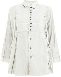 Renli Su - Striped Button Up Blouse - Lyst