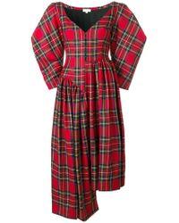 Isa Arfen - Asymmetrisches Kleid - Lyst