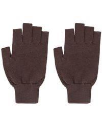 Rick Owens - Handschuhe aus Schurwolle - Lyst