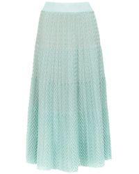 Cecilia Prado - Knit Cássia Midi Skirt - Lyst