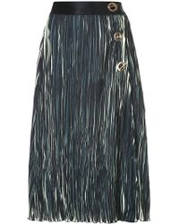 10 Crosby Derek Lam - Pleated Skirt - Lyst