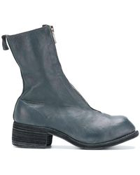 Guidi - Chunky Heel Boots - Lyst