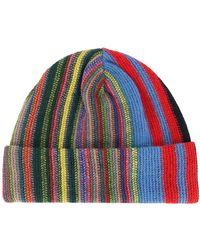 Missoni - Striped Knit Beanie Hat - Lyst ee1375e45606