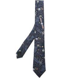 Valentino - Star Print Tie - Lyst