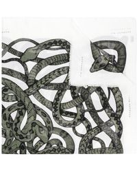 Barbara Bui - Snake Print Scarf - Lyst