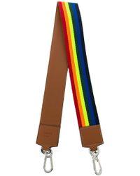 Loewe - Striped Bag Strap - Lyst