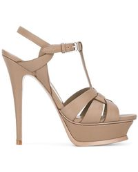 Saint Laurent | Classic Tribute 105 Sandals | Lyst