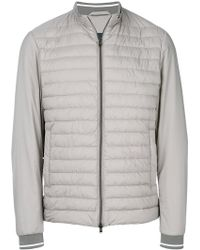 Herno | Zipped Padded Jacket | Lyst