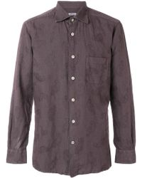 Kiton - Classic Button Front Shirt - Lyst