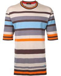 Loveless - Striped T-shirt - Lyst