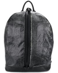 Giorgio Brato - Front Zipped Distressed Backpack - Lyst